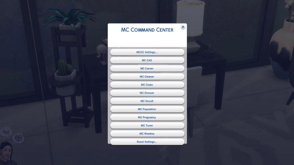 mc command center mod for sims 4