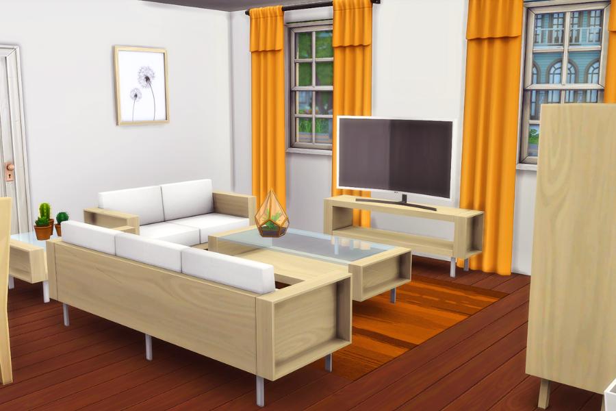 sims 4 living room cc
