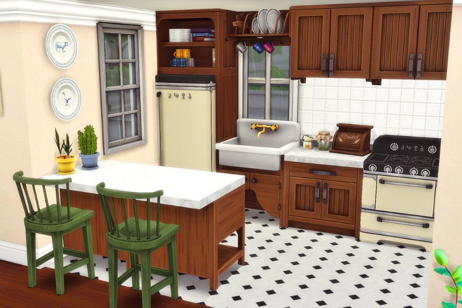 sims 4 kitchen cc pack
