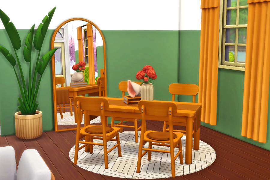 sims 4 dining room cc