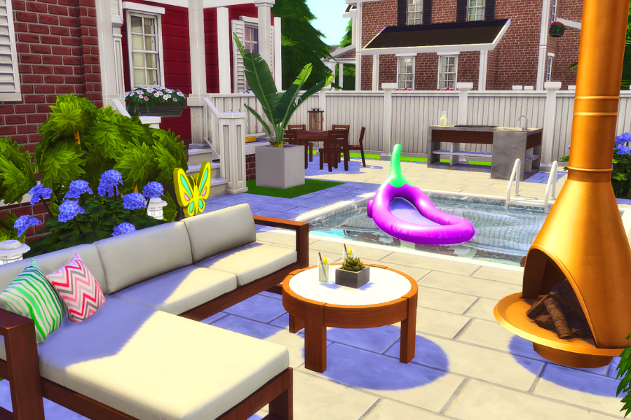 sims 4 outdoor cc pack