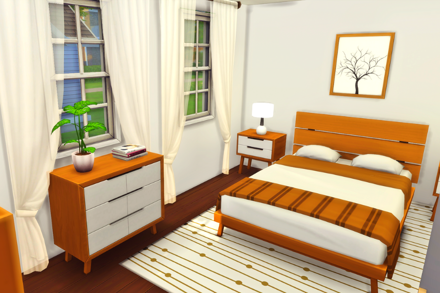 sims 4 bedroom cc pack