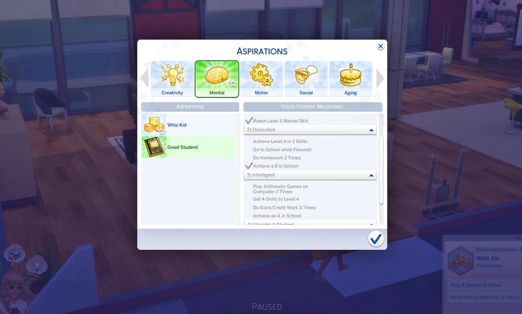 aspiration mods for sims 4