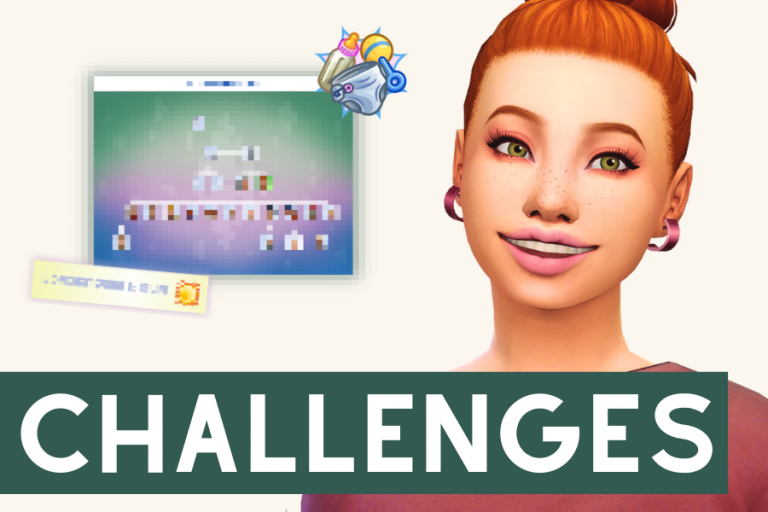 75+ Sims 4 Challenges List (You'll Never Be Bored Again)