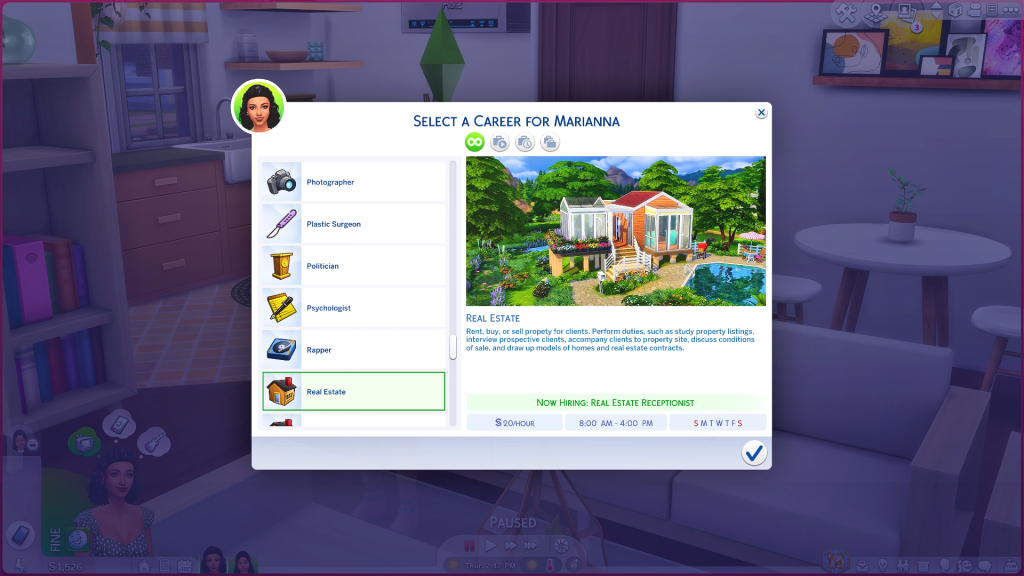 real estate career mod for sims 4