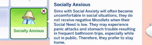 sims 4 mental illness traits