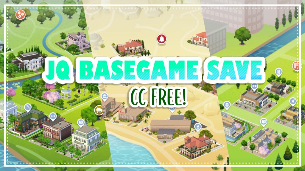 sims 4 save file base game