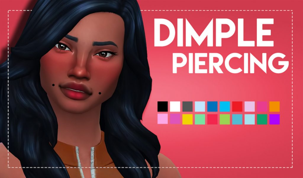 sims 4 dimple piercing