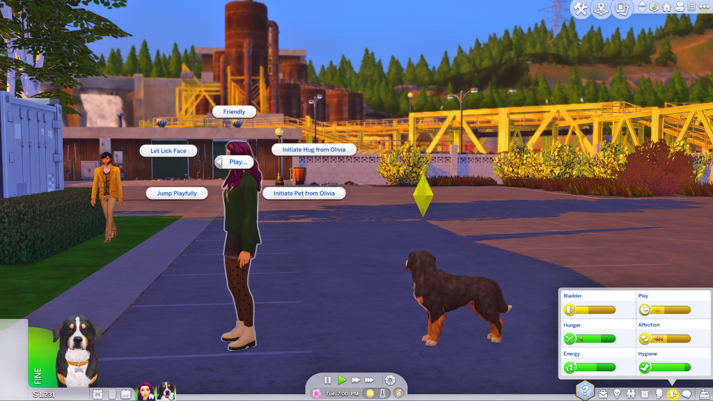 sims 4 selectable pets mod