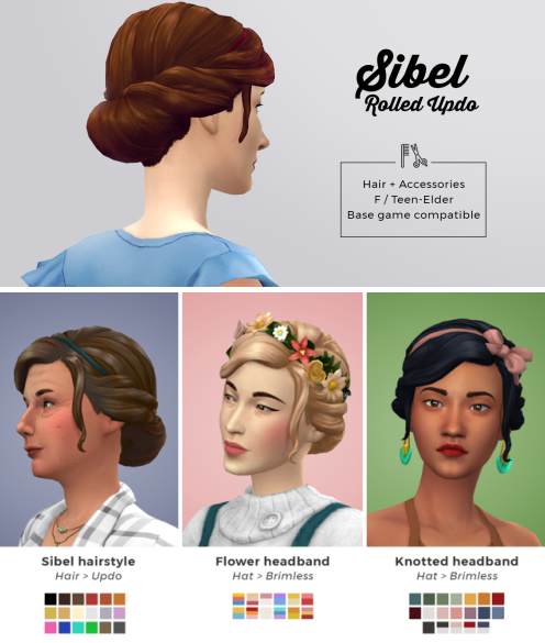 sims 4 cottage hairstyle