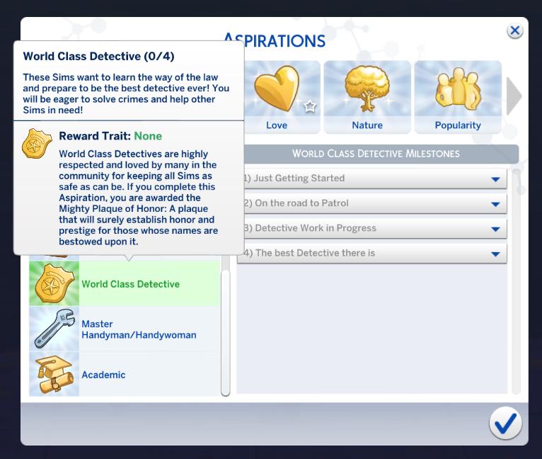 sims 4 custom aspirations