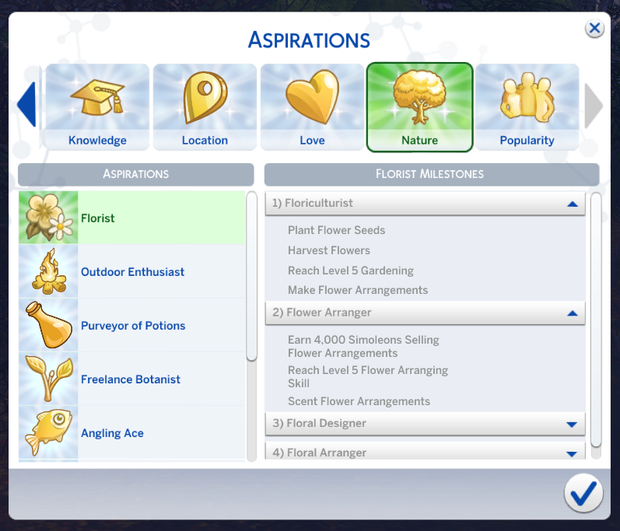 sims 4 cc aspirations