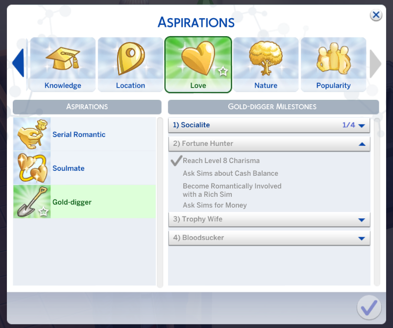 sims 4 aspiration mods