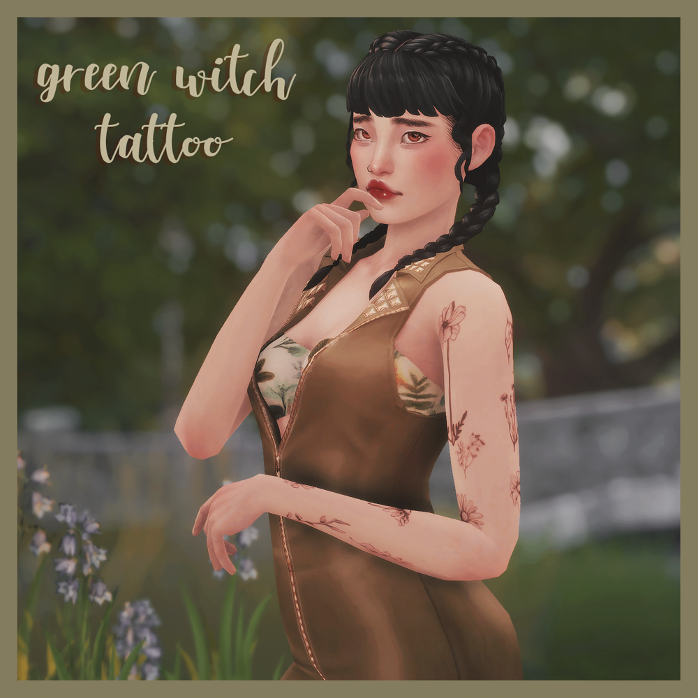 sims 4 witch tattoos
