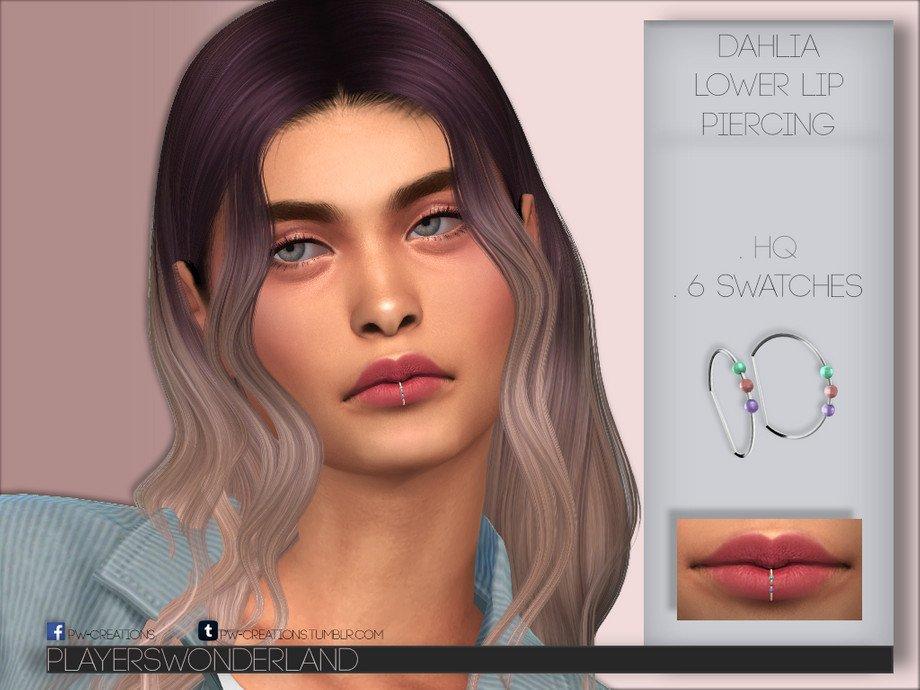 sims 4 lip piercing
