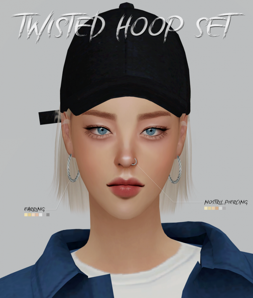 nose ring for sims 4