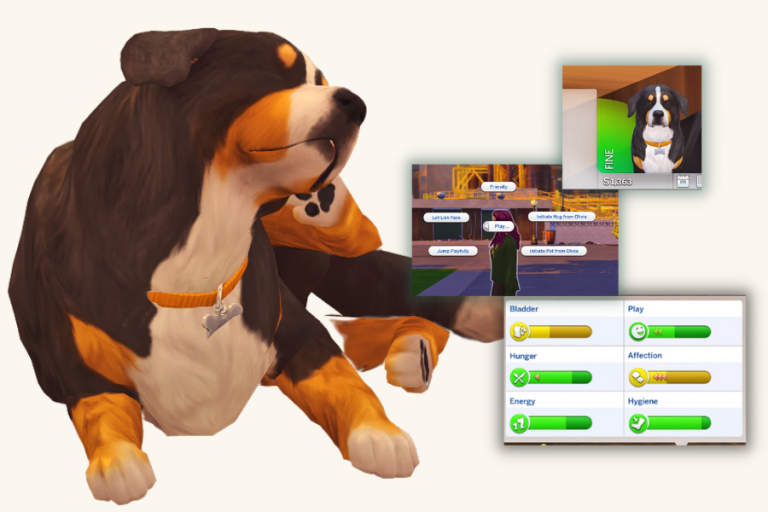 The Sims 4 Playable Pets Mod: Controllable Pets Mod Download & Review