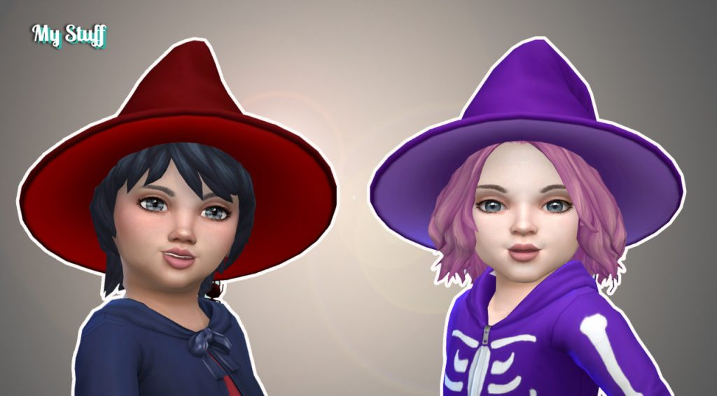 sims 4 witch hat for toddlers