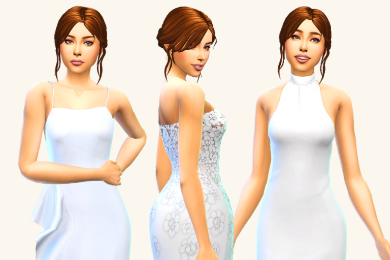 Ultimate List of Sims 4 Wedding Dress CC (Perfect for Your Sim's Dream Wedding)