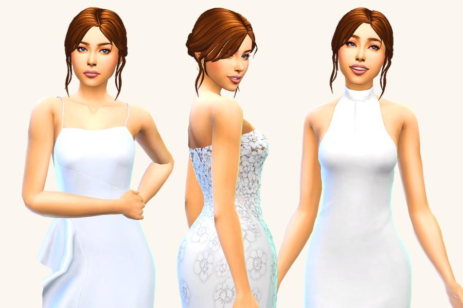 best sims 4 wedding dress cc