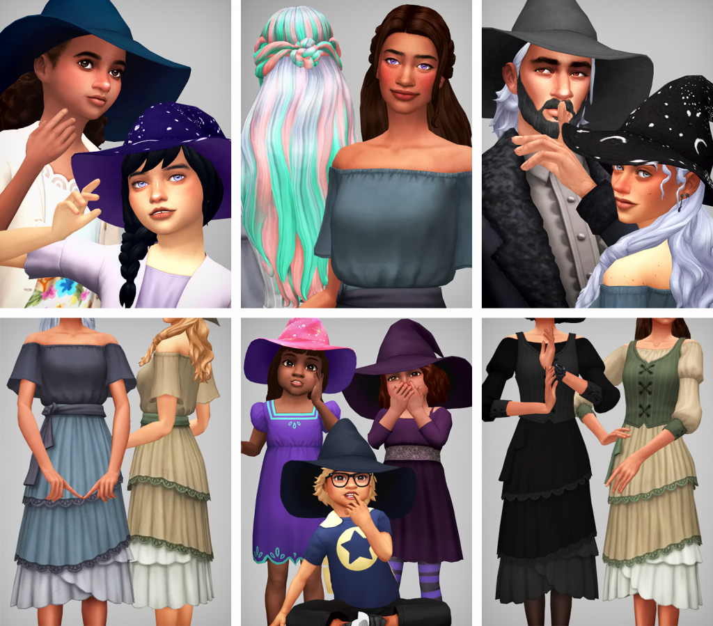 sims 4 witch cc