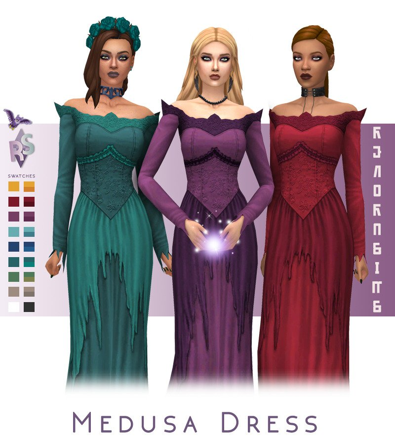 sims 4 witch cc clothes