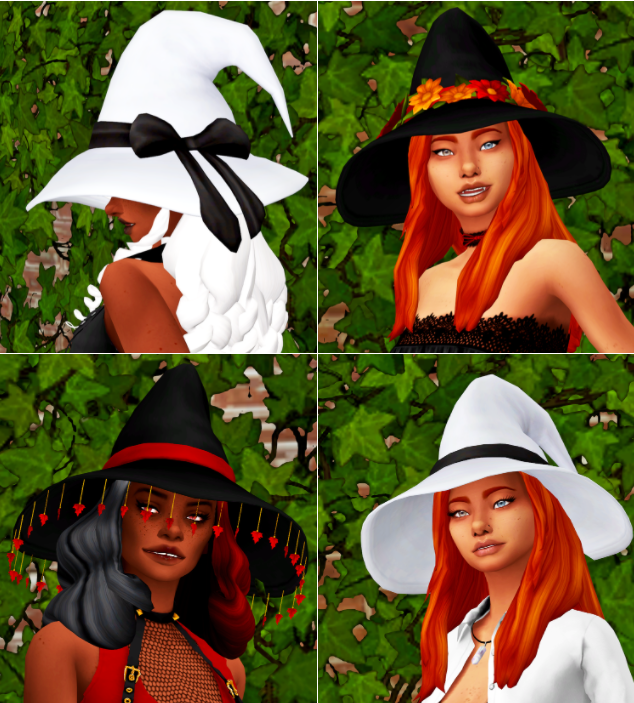 sims 4 witch hats