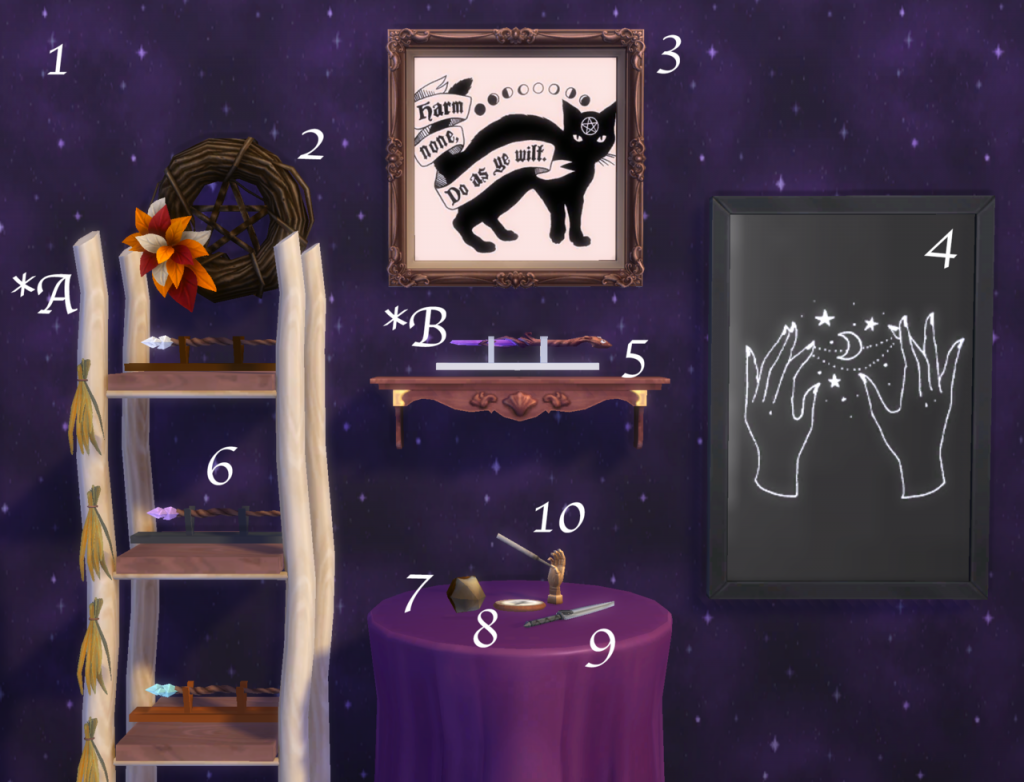 sims 4 witch cc pack