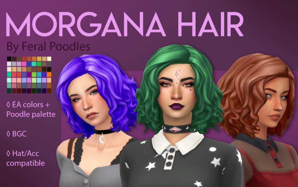 sims 4 witch cc hair