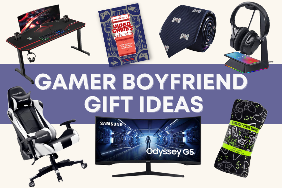 gifts for gamer boyfriend
