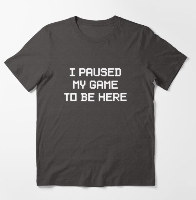 cheap gamer gifts tshirt