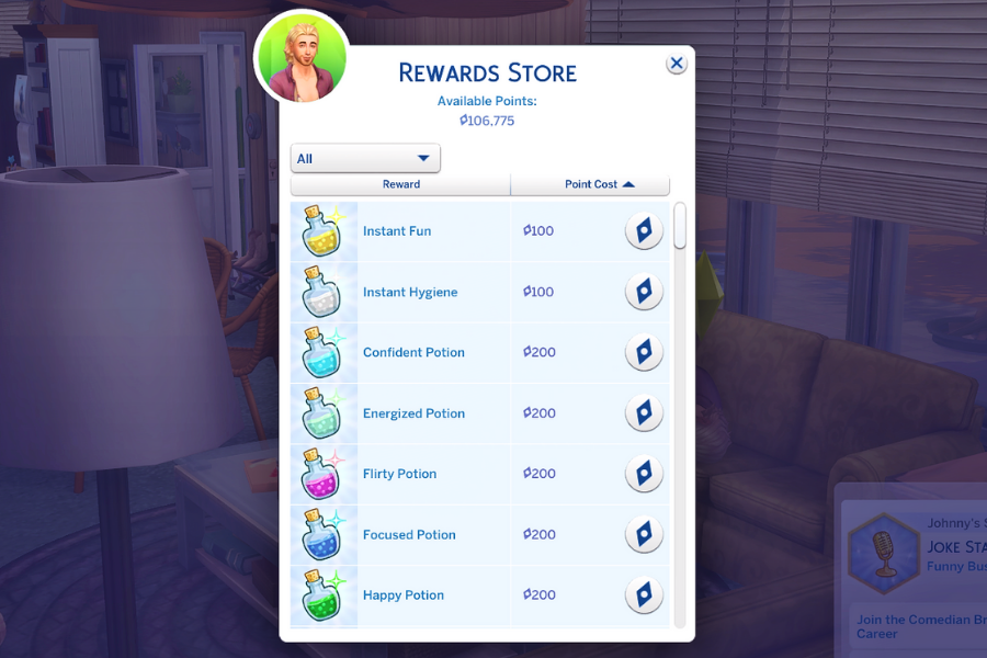 sims 4 unlimited satisfaction points