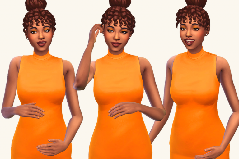 15+ Best Sims 4 Pregnancy Poses So You Can Have the Cutest Maternity Photoshoot